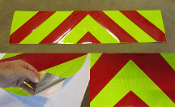 Chevron Panels - Pre-Cut Reflective NFPA 1901